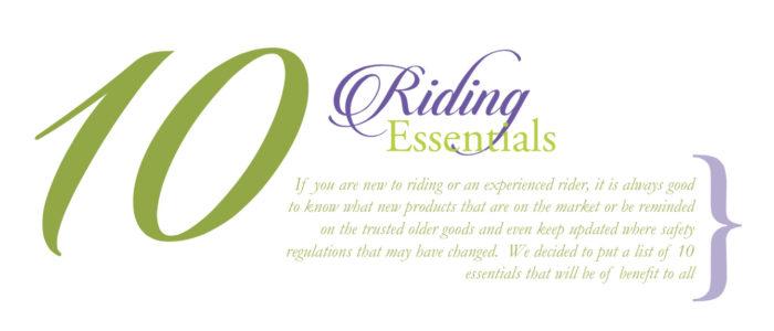 ten riding essenals